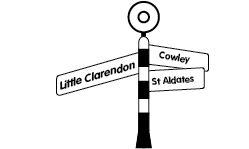 G&D locations signpost