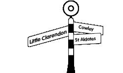 G&D locations signpost